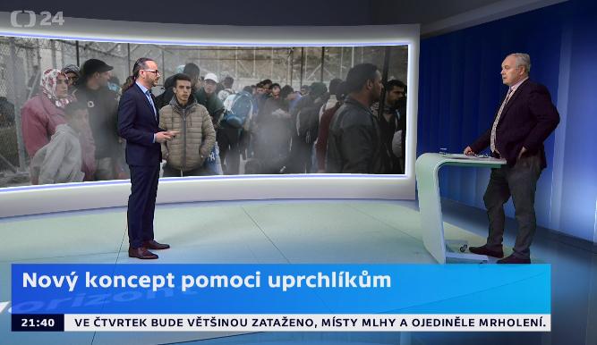 Dušan Drbohlav on Horizont (ČT24)